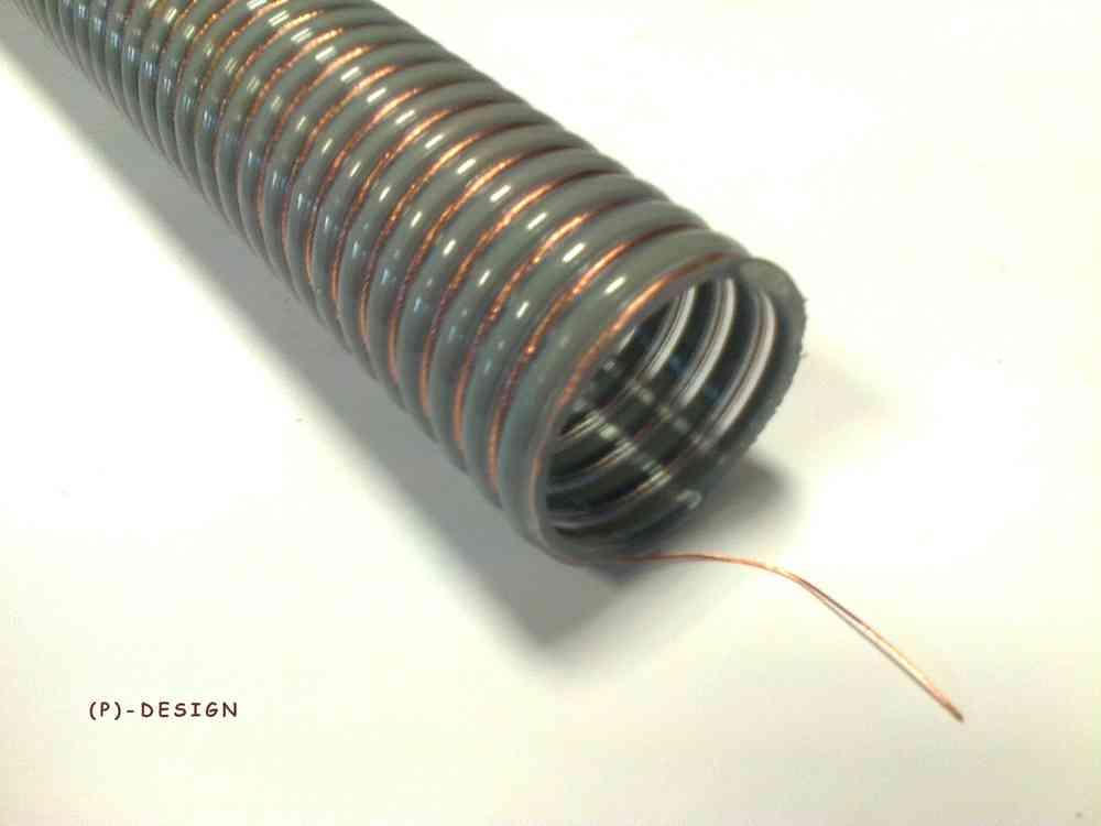 PVC-Förderschlauch NW 50 Storz Set Pelletsschlauch 10 m Pelletschlauch